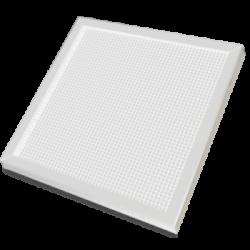 Панель светодиодная LPU-ПРИЗМА-PRO 36Вт 160-260В 6500К 2800Лм 595х595х19мм БЕЛАЯ IP40
