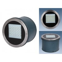 Грунтовый светодиодный светильник серии ПВУ 608 Оптикс