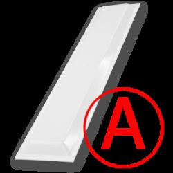 Аварийный светодиодный светильник Школьный, матовый, 12 Вт, IP65/20 БАП