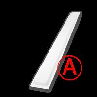 Аварийный светодиодный светильник Школьный, матовый, 24 Вт, IP65/20 БАП