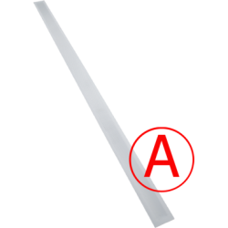Аварийный светодиодный светильник Айсберг матовый, 1х36, 12 Вт, IP65/20 БАП