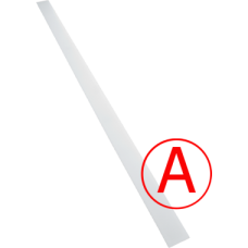 Аварийный светодиодный светильник Сеть матовый 24 Вт, БАП