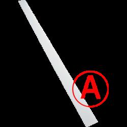 Аварийный светодиодный светильник Сеть, микропризма, 24 Вт, IP65/20 БАП
